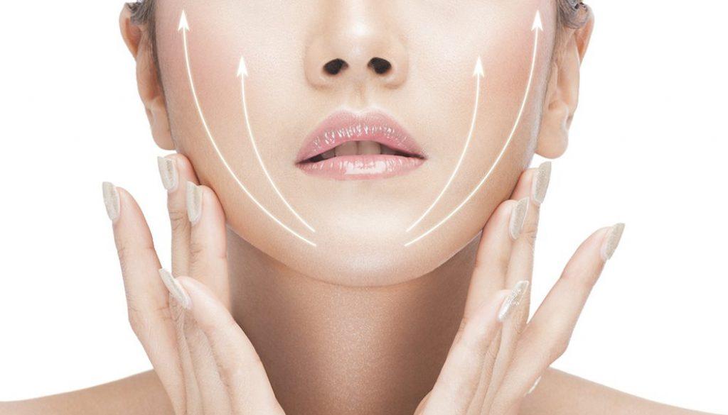 lifting de l'ovale du visage